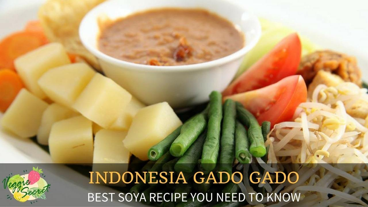 Soya Recipes: Indonesian Gado Gado (No Egg) – Part 2