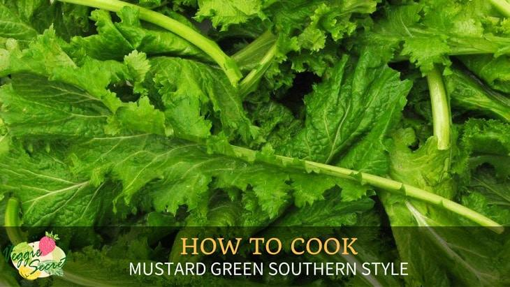 How to Cook Mustard Greens Southern Style